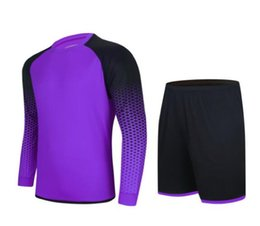 Wholesale Wholesale Long Mens Shorts - Custom mens Trainers Gym Jogging Long sleeve Soccer Jerseys Sets,blank names numbers Training Running Short sleeve Tops With Shorts uniform