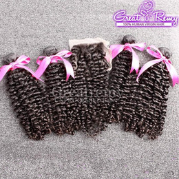 Jerry Curly Hair Extensions Brazilian Malaysian Hair Closure With Bundle 4pcs Hair Bundles And 1pc Free Part Lace Closure 5pcs Greatremy Coupon