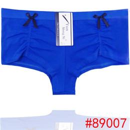 Wholesale Boyleg Underwear - Wholesale-300pcs lot hiphuggers cotton lady boyleg stretch cotton women underwear lady boyshort lady panties lingerie hipster underpants