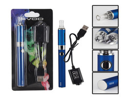 Wholesale Ego Ce4 Blister Free Shipping - MT3 EVOD Blister pack kit eGo starter kits e cigs cigarettes 650mah 900mah 1100mah battery MT3 atomizer CE4 free shipping