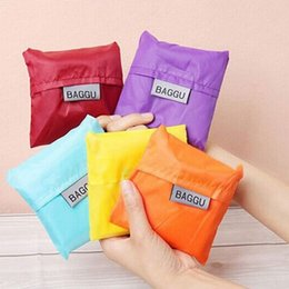 Wholesale Green Message Fashion - Newest style Candy color folding bag Shopping Bags 2016 fashion bags shoulder bags Totes women message bag handbag purse yzs168