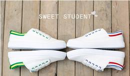 Wholesale Ventilating Lace - Ventilated shoes. White shoes. Canvas shoe. Student sports shoes. Casual shoes. Flat shoes. Casual fashion shoes. Men's Shoes. Walking shoes