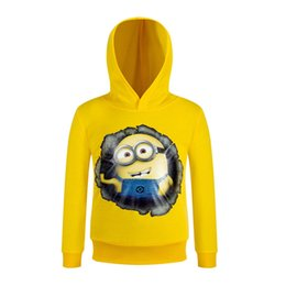 Wholesale Spring Clothes Arrival For Kids - Wholesale- New arrival hoodies kids clothing Cartoon design children hoodies cute fashion clothes cartoon clothes for Christmas AA005