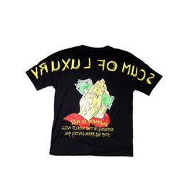 """Wholesale Men S Prayer - Short sleeve T-shirt, """"money first"""", """"prayer hand print short sleeve"""", """"loose lovers"""", """"tee summer"""""""