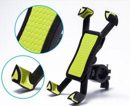 2019 suportes de bicicleta para iphone Telefone da bicicleta da motocicleta mountain bike mount holder suporte para iphone 7 6 6 s plus 5 S galaxy note 5 6 7 J1 suporte da bicicleta GPS 3 cores HDSZ002 suportes de bicicleta para iphone barato