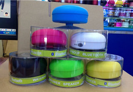 Canada New Bluetooth étanche haut-parleur portatif de douche coloré pour iphone 5 5s 5c 4 4s samsung HTC MP3 MP4 Offre