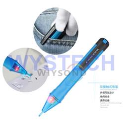 Wholesale Voltage Probes - Wholesale-M063 Bside AVD01 Non-Contact Tester Pen Style Stick Probe AC 90V~1000V Voltage Detector Pen vs Fluke D2
