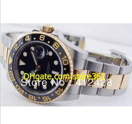 Wholesale Luxury Ii Perpetual - Limited Edition Men's GMT II CERAMIC V SERIAL MAN PERPETUAL Swiss Eta 7750 Automatic Movement Original Box Quality Watche
