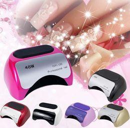 Wholesale Pro Timer - NEW 48W Pro CCFL Nail Art Timer Dryer LED Sensor & UV Lamp Gel Polish Curing