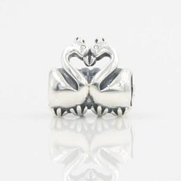 Argentina Encantadora ganso pulsera de lujo en forma de encanto colgante de plata para las mujeres Vestido de la marca pulsera collar de joyería de moda que hace diy accesorios Suministro