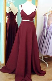 Wholesale Sxey V - Real Pictures 2017 Prom Gowns V-neck Satin Floor lenth sxey back sleeveless formal evening dresses free shipping