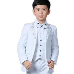 костюмы для общения Скидка Мальчик костюмы формальный повод костюмы маленькие мальчики свадьба случаю костюмы смокинги мода из трех частей маленькие костюмы (куртка + брюки + жилет)