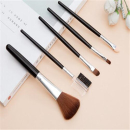 Wholesale Tool Sets For Cheap - Manfei 5pcs Makeup Brush Set Premier Comestic Beauty Tool Kit Cheap Beauty Make up 2017 Fashion for Women
