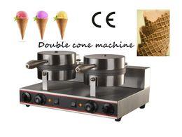 Wholesale Mold Machines - Double head ice cream cone making machine, ice cream cone mold, machine for making ice cream cones
