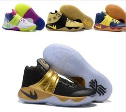 Wholesale Cheap Ties Online - Newest Kyrie 2 ll Irving Men Basketball Shoes,Kyrie2 Tie Dye BHM Bright Crimson All Star Basketball shoes Sneakers Cheap Sale Online