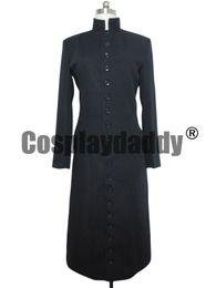 Wholesale Matrix S - THE MATRIX COSPLAY COSTUME NEO BLACK TRENCH COAT M002