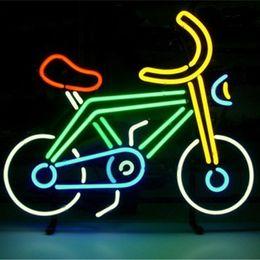 Wholesale Ce Bike - Glass Bike-shaped DIY LED Neon Sign Flex Rope Neon Light Indoor Outdoor Decoration RGB Voltage 110V-240V