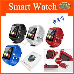 Wholesale Vibration Watch Phone - Cell Phones Accessories Smart Watches U8 Vibration Barometer Passometer Anti-lost Bluetooth Wearable Smart Wriswatch For IOS Android Phone