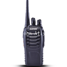 Wholesale Interphone Vhf - Hot sale BaoFeng BF-888s New Walkie Talkie UHF   VHF Intercom Interphone 2 way
