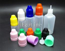 Wholesale 15ml Plastic Bottle Cap - Solf Needle bottle PET PE Bottle 5ML 10ml 15ML 20ML 30ML Plastic Dropper Empty E Liquid Bottle Oil Children proof Cap Fedex
