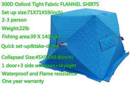 Wholesale Above Door - Details about 71X71X59in 3 Person ourdoor Portable Ice fishing hut Shelter Tent Pop up house