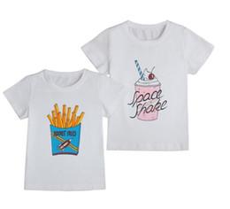 Helado de bebe online-diseño de dibujos animados de camiseta de bebé camisetas y diseño de helado camisetas de niño y niñas impresión de algodón de Estados Unidos 2T-5T caliente