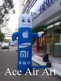 Wholesale Inflatable Store - High quality Inflatable Tube Man  Inflatable guide man   Inflatable Advertising Man for Mobile Store Made in China