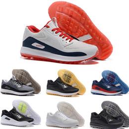 Wholesale Outdoor Lighting Control - Hot Sale 2017 Lunar Control 4 Golf Shoes Medium Air Zoom 90 IT Sports Shoes Men Women Sneakers Size US5.5--12