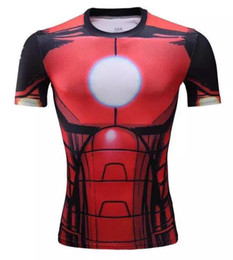 Wholesale Spider Stock - Goog price colorful Sport Fitness jersey On own stock Free shipping Elastic spider-manThermal men's soccer maillo