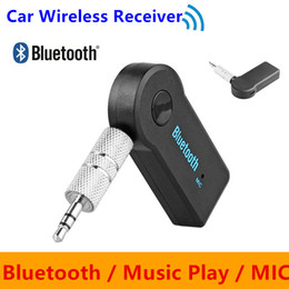 Wholesale G7 Speakers - Car Bluetooth Audio Music Receiver Adapter Universal 3.5mm AUX Auto AUX Streaming A2DP Wireless Kit for Speaker Headphone VS BC06 BT66 G7