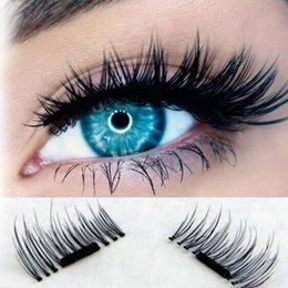 Wholesale Eyelashes False Thin - NEW Fashion False Eyelashes Ultra-thin 0.2mm Magnetic Eyelashes 3D Reusable False Magnet Eyelashes Cilios Posticos