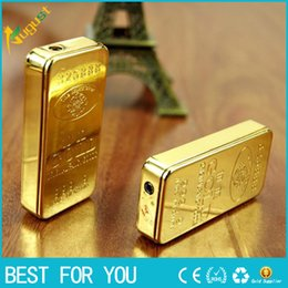Wholesale Thin Gold Lighters - gold lighter individuality creative ultra-thin metal grinding wheel gas flame USB lighter new hot