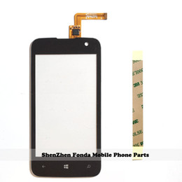 Wholesale Smartphone Replacement Glass Screens - Wholesale- 4.0'' Touch Screen Digitizer For Highscreen winwin SmartPhone Touch Panel Front Glass Sensor Touchscreen Replacement With Tape