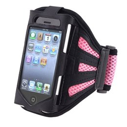 Wholesale Iphone 3g Sport Case - EA14 Sports Gym Running Case Pouch Armband for iPhone 4 3G 3GS 4G 4GS i Touch