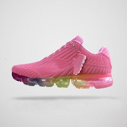 Wholesale Cheap Leather Baseballs - New 2017 Cheap Wholesale Womens Running Shoes fashion Sneakers Pink and colorful women breathable sports shoes Size US5.5-8.5
