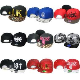 Wholesale Leopard Print Baseball Hats - 72 Styles Last Kings Strapback Hats LK Leopard Caps Hat Snapbacks Adjustable Hat Hiphop Lastkings Snapback Baseball Cap Cheap Sale
