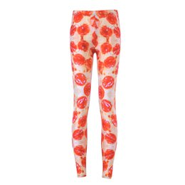 Wholesale Rich Prints - Women Fashion Rich Breakfast Galaxy Leggings Red Diving Pants Printed Sky Space Stretchy Breathe Christmas Warm Jeggings Slim Tights