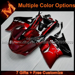 Wholesale Ninja Zx11 - 23colors+8Gifts RED motorcycle cowl For Kawasaki ZX11R ZZR1100 1993-2001 ZZR1100 93 94 95 96 97 98 99 00 01 02 ABS Plastic Fairing