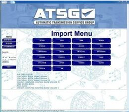 Wholesale Mazda Transmission - Arrival ATSG V2012 version Automatic Transmissions Service Group Repair Information Promotion!