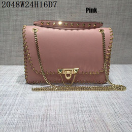 Wholesale Christmas Phone Cases - Top end women Shoulder bags Original Hareware and leather women casual Crossbody with Hasp serial numbers Business cases top choice