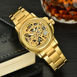 Wholesale Ladies Watches Small Dial - 1pcs full gold luxury watch new style automatic movement Mechanical watch small dial 33mm for women lady 0671