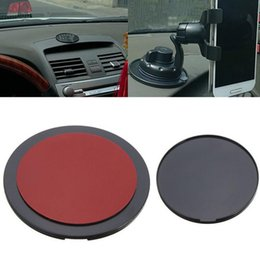Wholesale Adhesive Mounting Disc - 2017 Universal Car Mount Holder GPS Adhesive Sticky Dashboard Suction Cup Disc Disk Sticky Pad