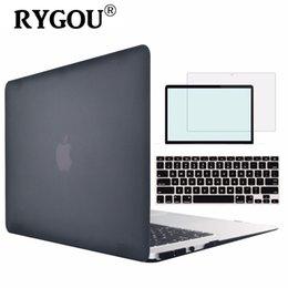 Wholesale Macbook Air Case A1466 - New Matte Hard Cover for Macbook Air 13 Case Shell A1369 A1466 Laptop Bag Case for Mac Book Air 13.3 inch Protective Cases