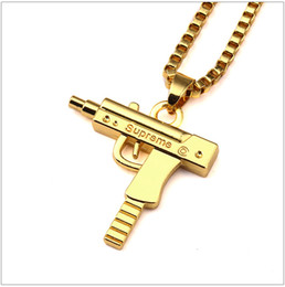 Wholesale Mens Snake Jewelry - Sale Charm Necklaces Mens Hip Hop Jewelry Gangsta Pendant Design Punk Rock Fashion Filling Pieces Chains 60CM Long Halloween Gift-J1060