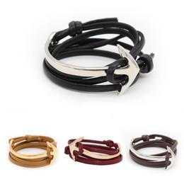 Wholesale Sail Bracelet - Couples Sailing Braided Bracelet Ship Wheel Shape Bracelet Many Colors for Choosing with High Quality WO06