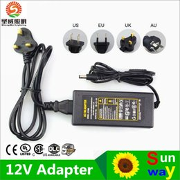 Wholesale Switching Power Adapter 12v 3a - LED adapter switching power supply 110-240V AC DC 12V 2A 3A 4A 5A 6A 7A 8A 10A Led Strip light transformer adapter lighting