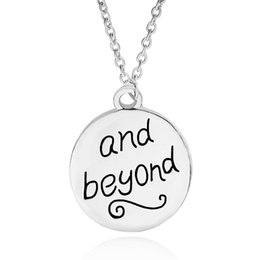 Wholesale Infinity Necklaces For Women - New carving best friend to infinity and beyond pendant Necklace for women fashion jewelry Christmas gift 161552