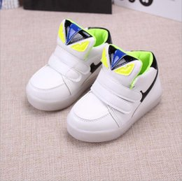 best dance sneaker pink - 2016 NEW style children's USB charging LED light shoes kids Nightclub dance shoes boys and girls sneaker fashion sport shoes casual shoes.
