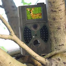 Wholesale Ir Game Cameras - HC300M NO glow Trail Cameras Hunting Cameras Trap Game Cameras Black IR Wildlife Free shiping