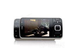 Wholesale Cheap 3g Unlocked Phones - cheap 5MP Slider unlocked phone Camera sim card 2.8 inch N96 smart phone cell phone with 3G WIFI GPS Bluetooth